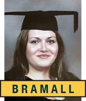 Headshot of UCL graduate Dr Katie Bramall-Stainer