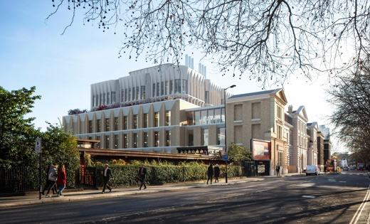 Artist impression of the new state of the art research facility for UCL